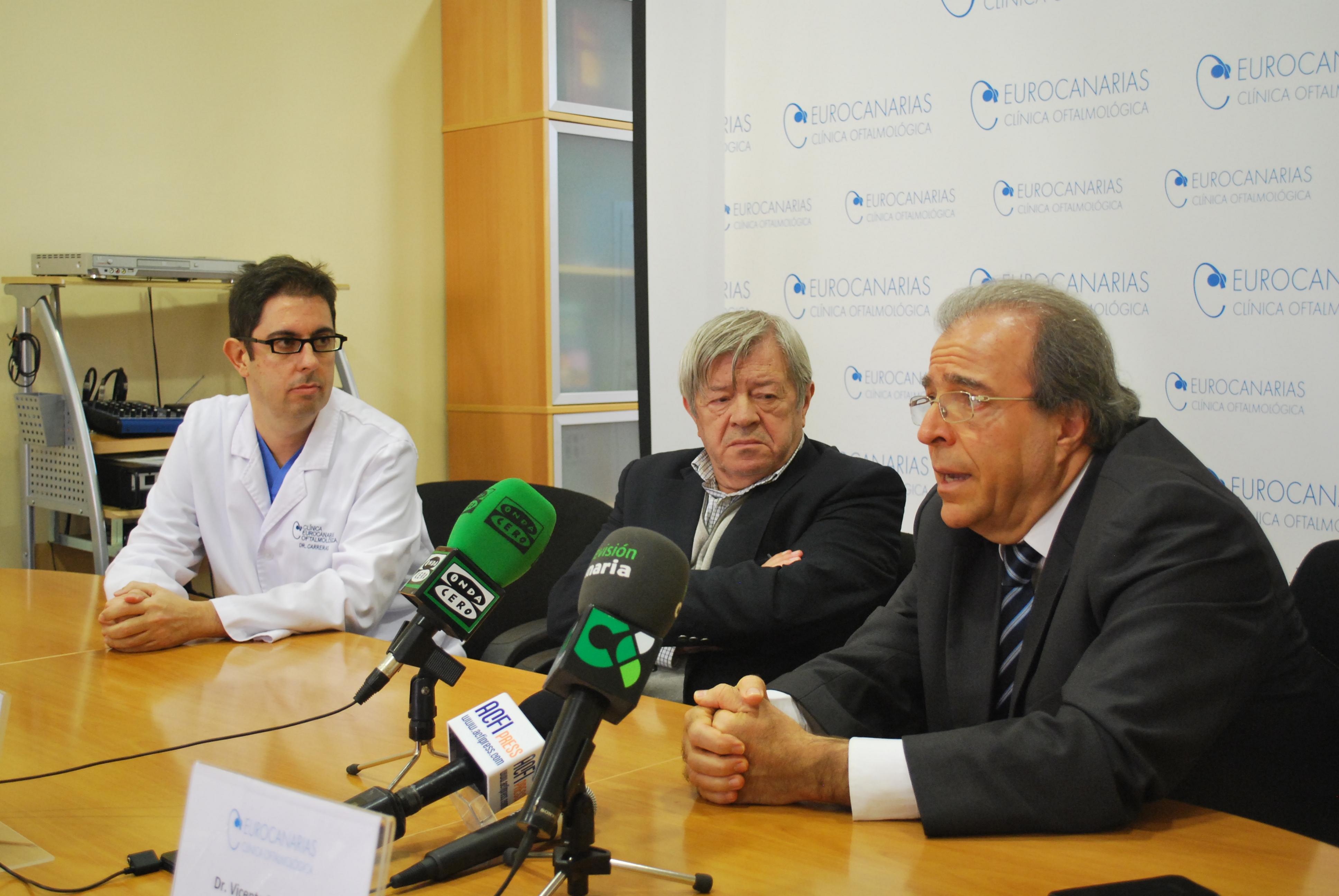 Eurocanarias Oftalmológica apoya la campaña navideña de Casa de Galicia