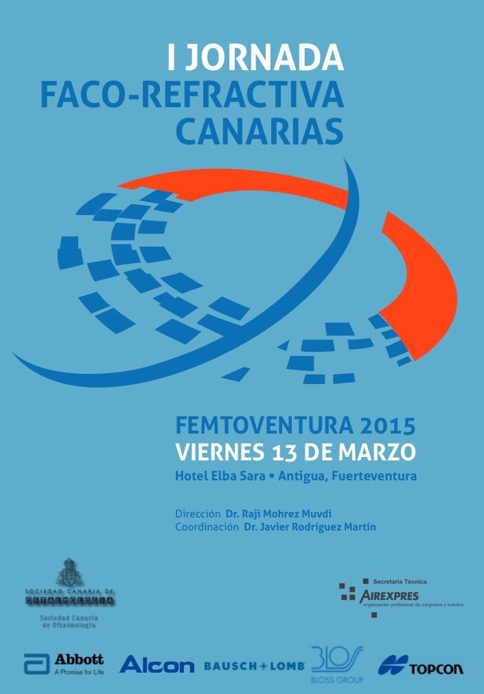Eurocanarias Oftalmológica participa en la I Jornada Faco-Refractiva Femtoventura 2015