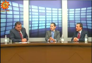 Los doctores Miguel Reyes y Félix Francisco hablan sobre la Unidad de Uveítis de Eurocanarias en Canal 4 TV