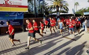 Eurocanarias Oftalmológica estuvo presente en la tradicional carrera de San Silvestre