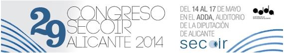 XXIX Congreso de la SECOIR 2014(Sociedad Española de Cirugía Ocular Implanto-Refractiva)