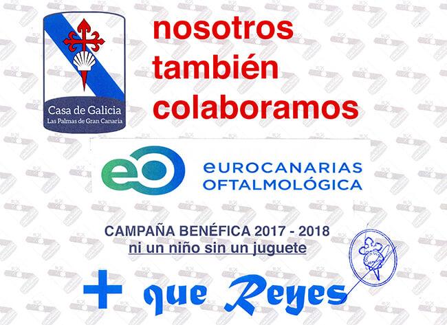 Eurocanarias campaña benéfica 17/18 +Que Reyes