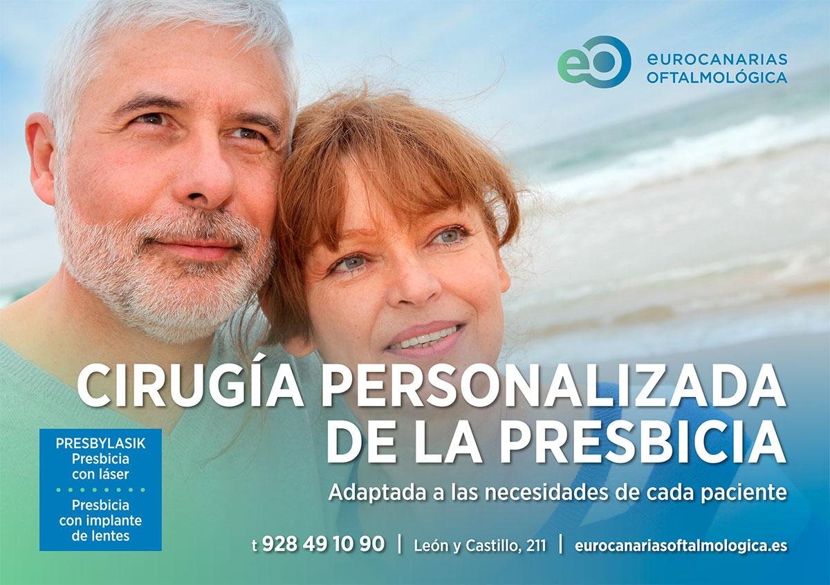 Promoción cirugía personalizada de la presbicia