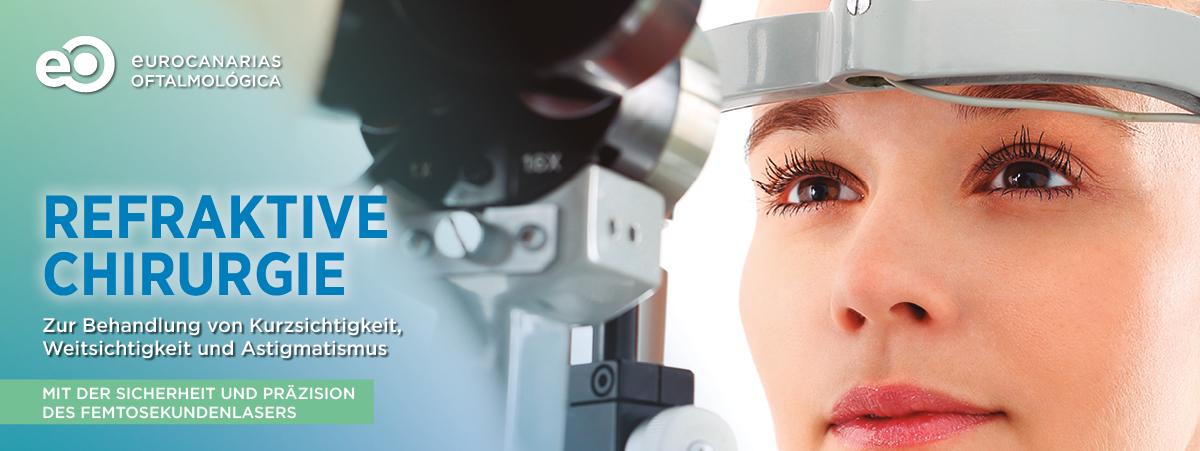 Refraktive Chirurgie Eurocanarias Oftalmológica